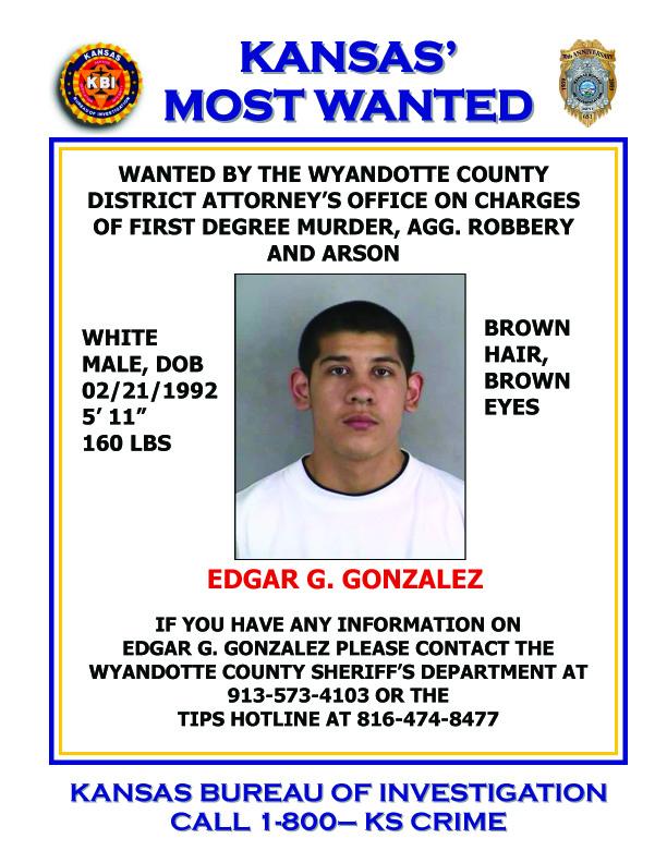 KBI Kansas Bureau of Investigation Kansas Most Wanted Edgar – Wanted Criminal Poster